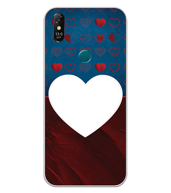 Hearts Photo Back Cover for Coolpad Cool 3 Plus