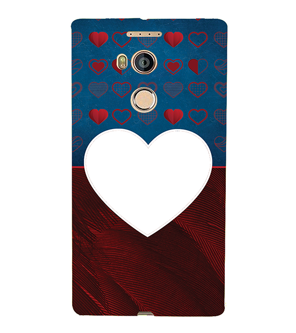 Hearts Photo Back Cover for Gionee Elife E8