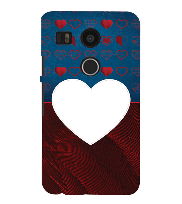 Hearts Photo Back Cover for Google Nexus 5X