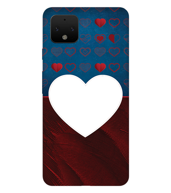 Hearts Photo Back Cover for Google Pixel 4 XL