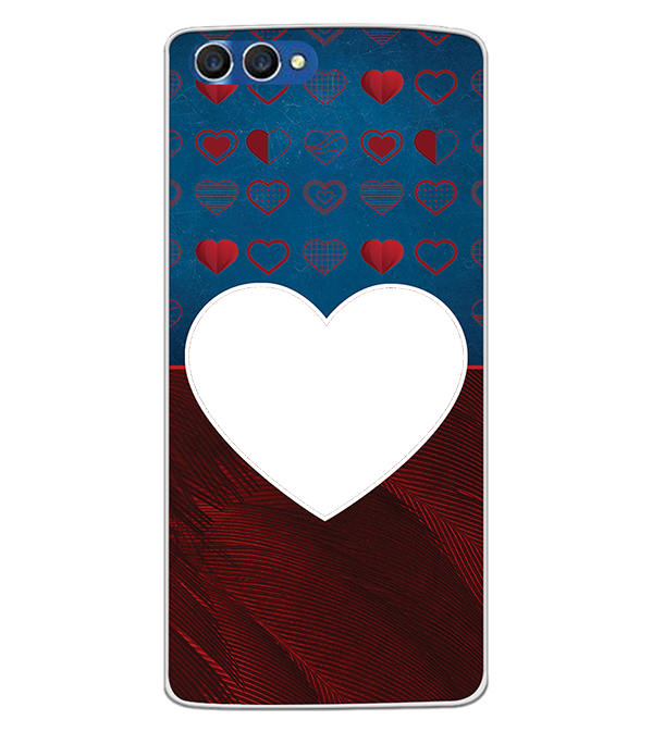 Hearts Photo Back Cover for Homtom H3