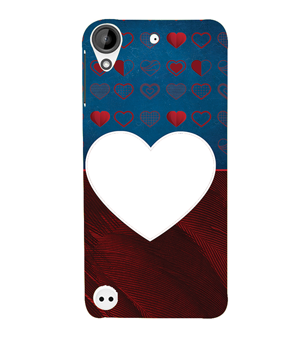 Hearts Photo Back Cover for HTC Desire 530