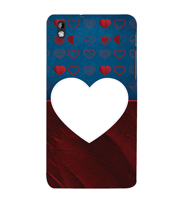 Hearts Photo Back Cover for HTC Desire 816