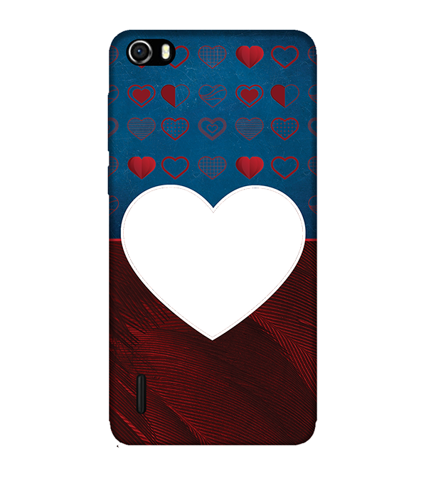 Hearts Photo Back Cover for Huawei Honor 6
