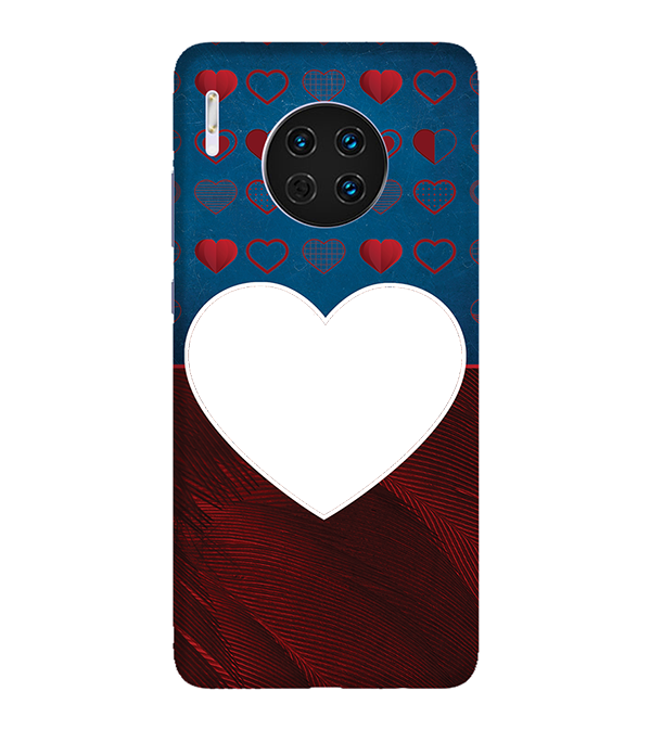 Hearts Photo Back Cover for Huawei Mate 30