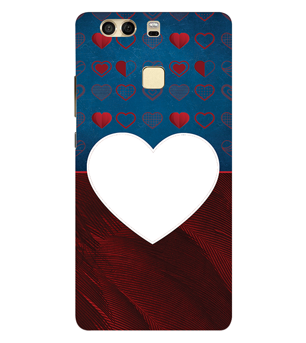 Hearts Photo Back Cover for Huawei P9