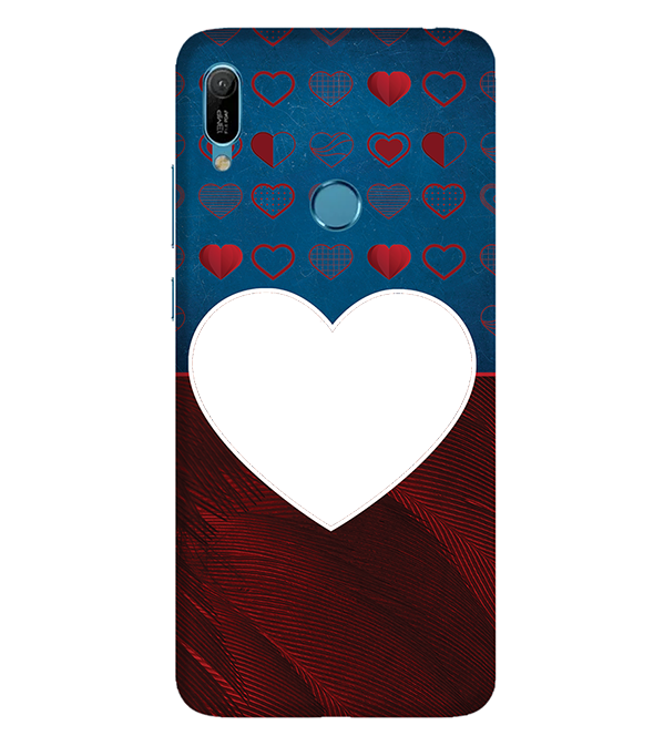 Hearts Photo Back Cover for Huawei Y6 Prime (2019)