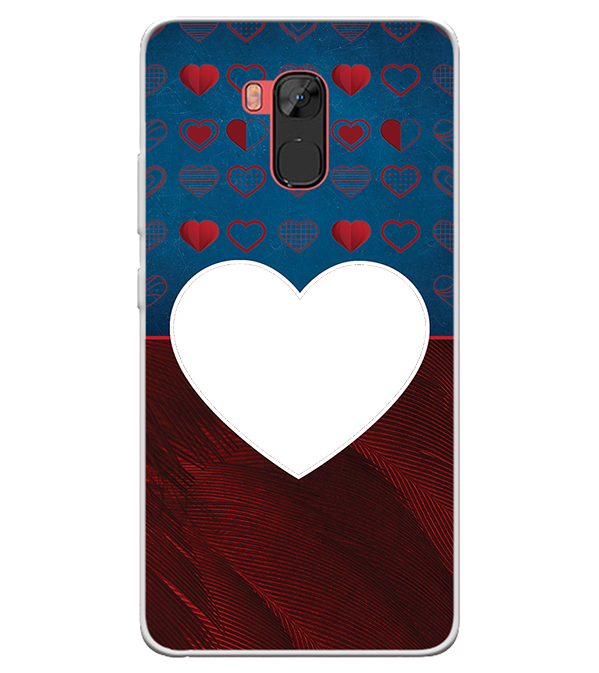 Hearts Photo Back Cover for Infinix Note 5 Stylus