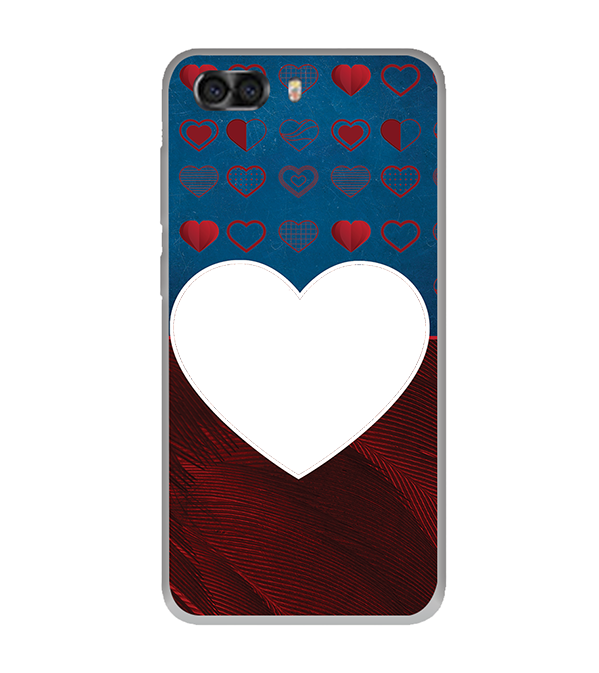Hearts Photo Back Cover for InFocus Turbo 5 Plus