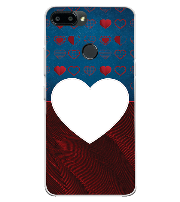 Hearts Photo Back Cover for Itel A45