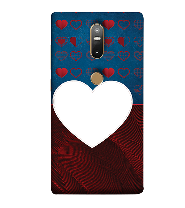 Hearts Photo Back Cover for Lenovo Phab 2 Plus
