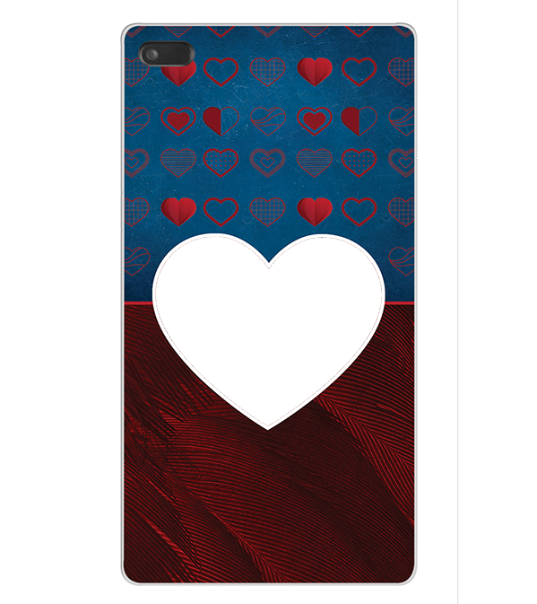 Hearts Photo Back Cover for Lenovo Tab 7