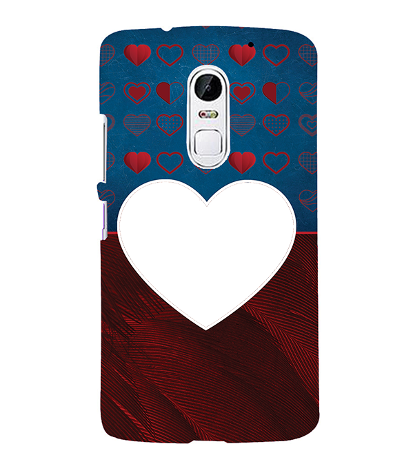 Hearts Photo Back Cover for Lenovo Vibe X3