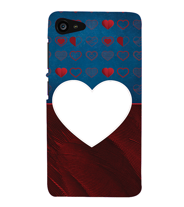 Hearts Photo Back Cover for Lenovo ZUK Z2