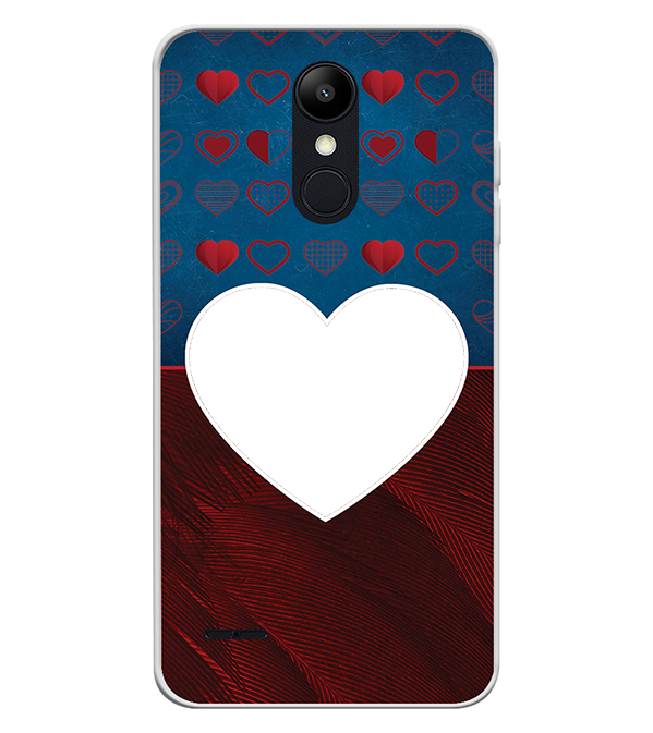 Hearts Photo Back Cover for LG K9