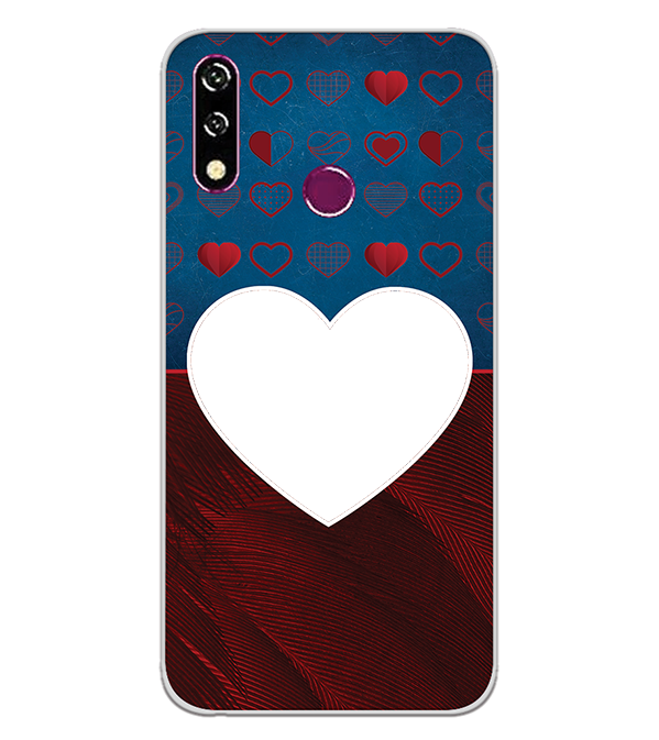 Hearts Photo Back Cover for LG W10
