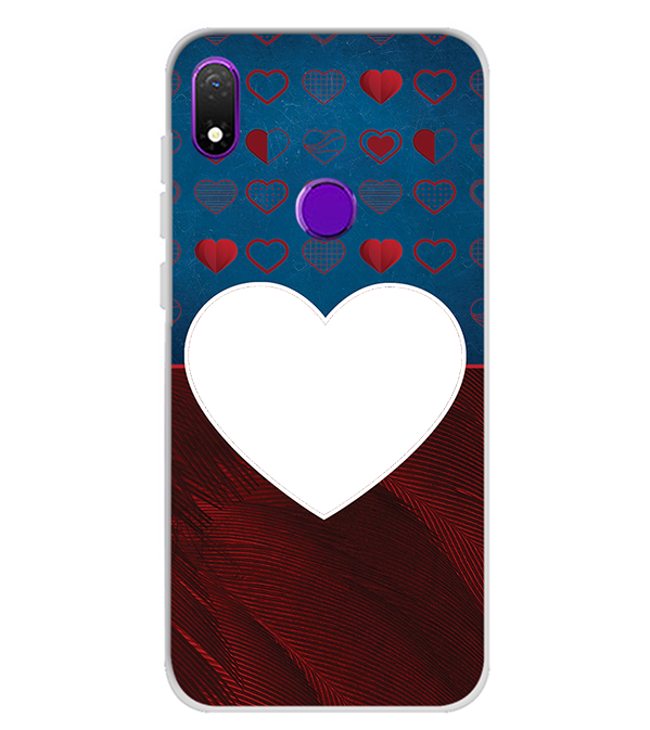 Hearts Photo Back Cover for Mobiistar X1 Notch