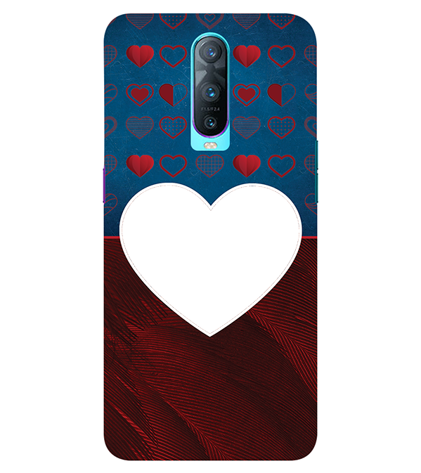 Hearts Photo Back Cover for Oppo RX17 Pro