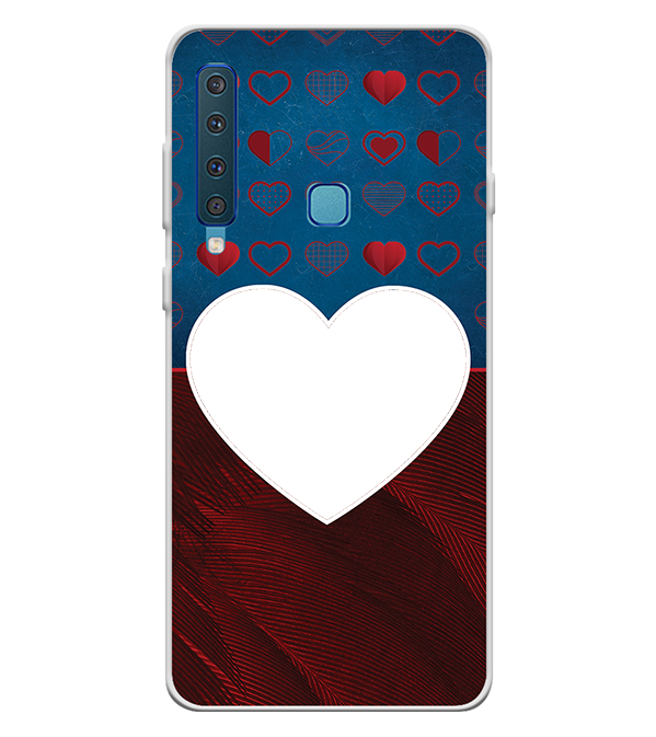 Hearts Photo Back Cover for Samsung Galaxy A9 (2018)