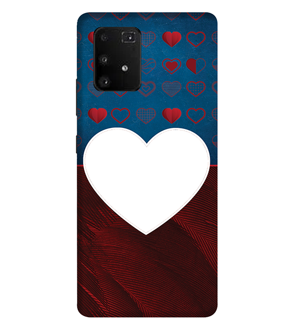 Hearts Photo Back Cover for Samsung Galaxy A91