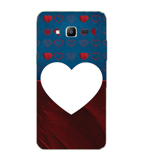 Hearts Photo Back Cover for Samsung Galaxy J2 Prime