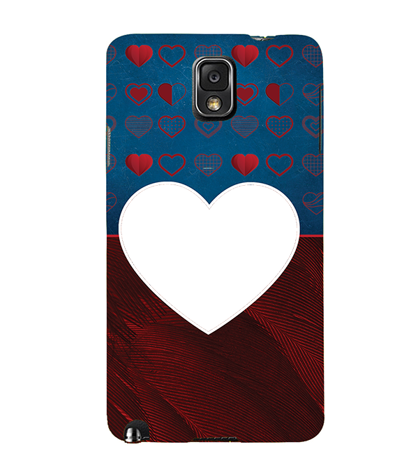 Hearts Photo Back Cover for Samsung Galaxy Note 3
