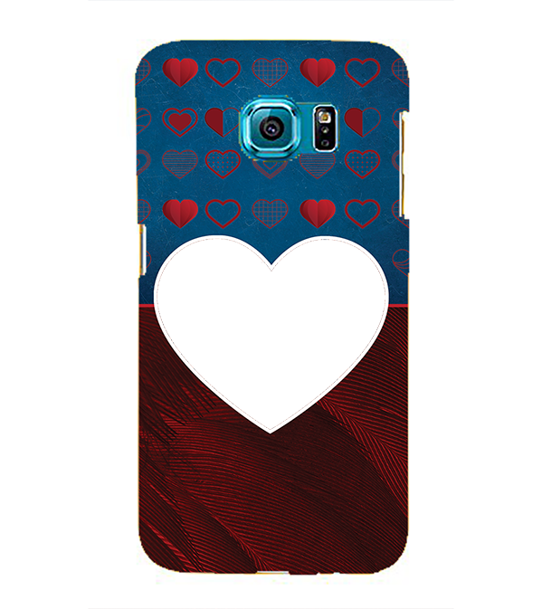 Hearts Photo Back Cover for Samsung Galaxy S6 edge+