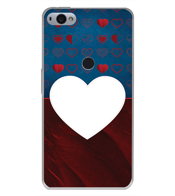 Hearts Photo Back Cover for Smartron SRT Phone