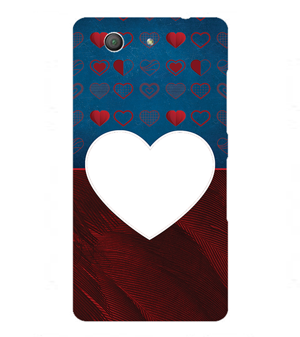 Hearts Photo Back Cover for Sony Xperia Z3+ and Xperia Z4