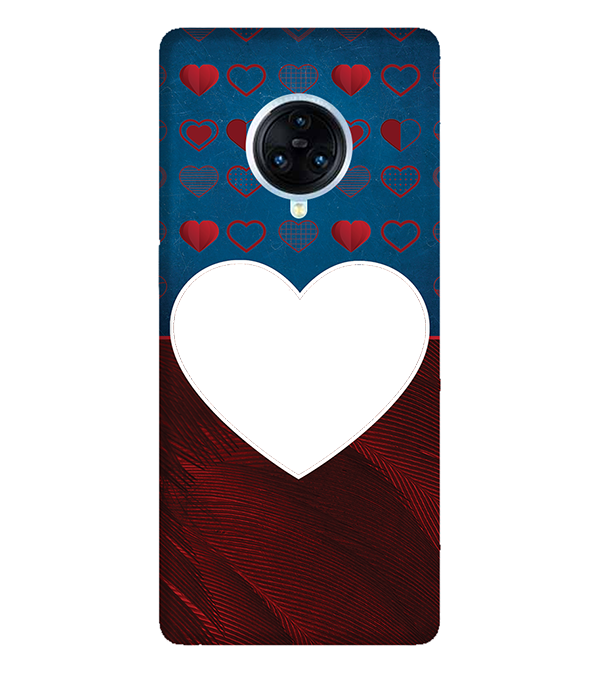 Hearts Photo Back Cover for Vivo NEX 3