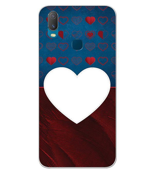 Hearts Photo Back Cover for Vivo Y11 (2019)