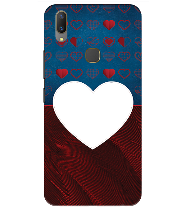 Hearts Photo Back Cover for Vivo Y85