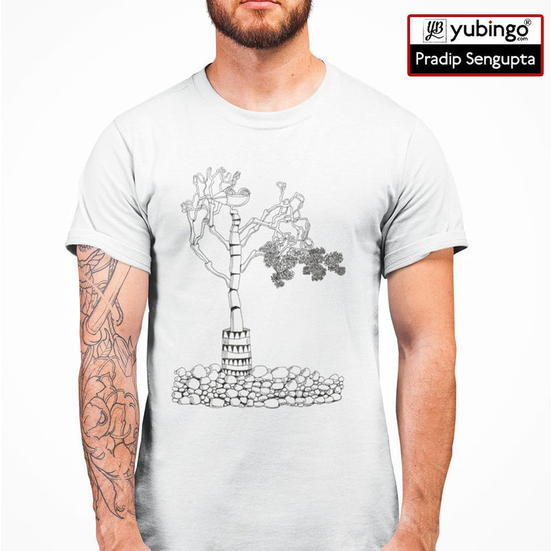 Bone tree Men T-Shirt