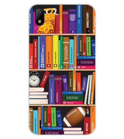 Books Back Cover for Lava Z41