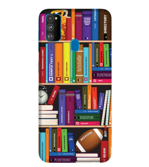 Books Back Cover for Samsung Galaxy M30s