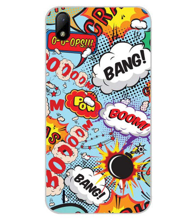 Boom Bang Back Cover for Lava Z41