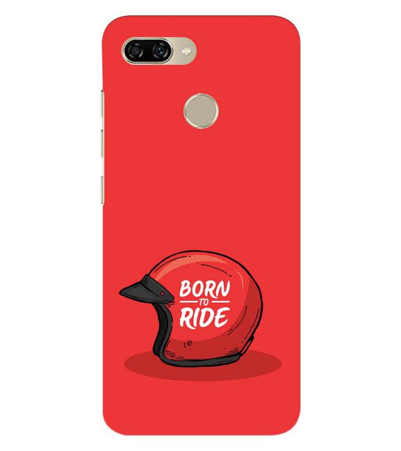 Born 2 Ride Back Cover for Gionee S11 lite