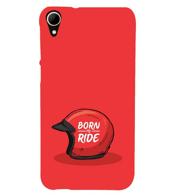 Born 2 Ride Back Cover for HTC Desire 828