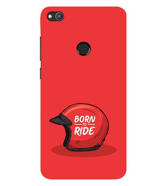 Born 2 Ride Back Cover for Huawei Honor 8 Lite