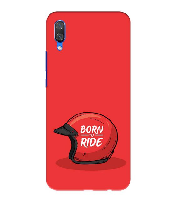 Born 2 Ride Back Cover for Huawei Nova 3