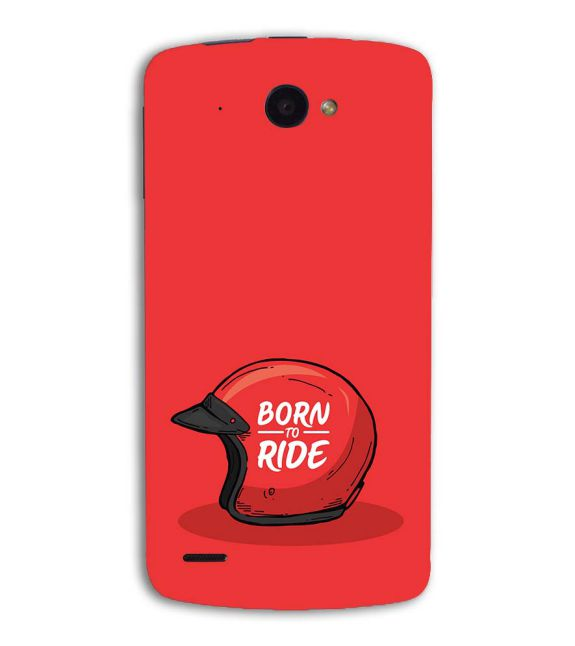 Born 2 Ride Back Cover for Lenovo S920