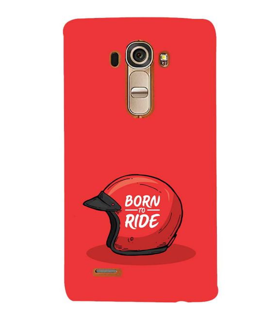 Born 2 Ride Back Cover for LG G4