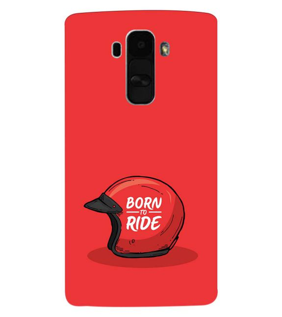 Born 2 Ride Back Cover for LG G4 Stylus