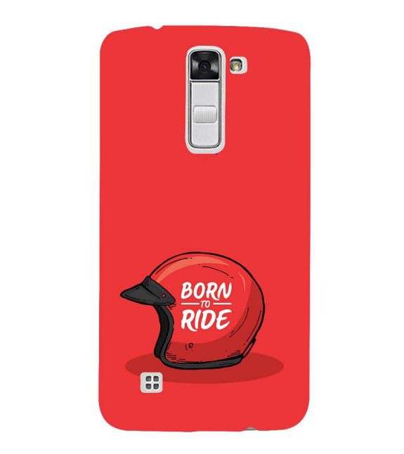Born 2 Ride Back Cover for LG K10