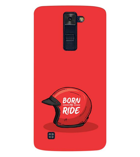 Born 2 Ride Back Cover for LG K8