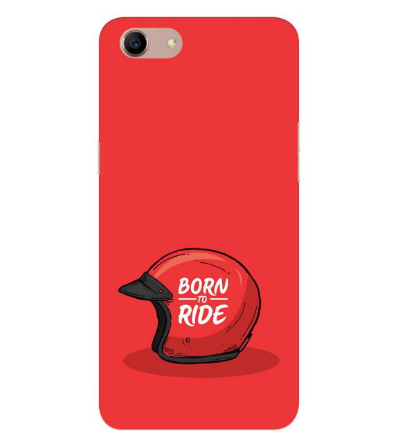 Born 2 Ride Back Cover for Oppo A83