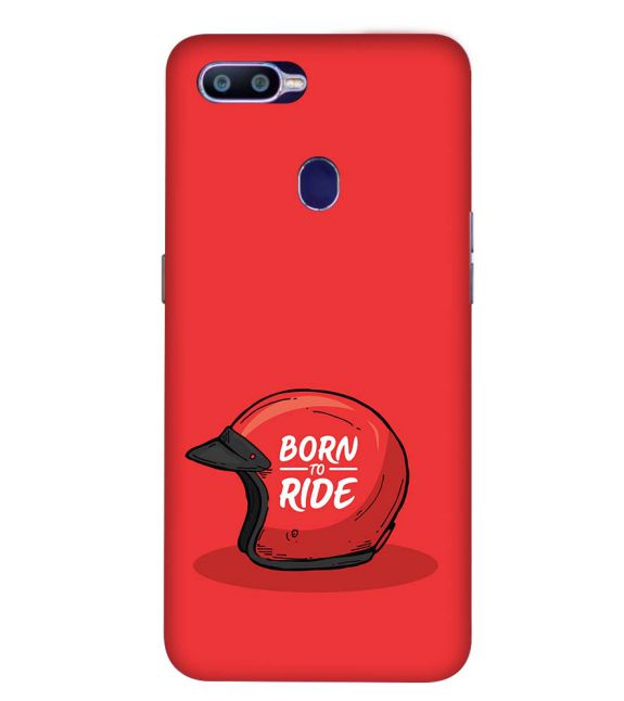 Born 2 Ride Back Cover for Oppo R15 Pro