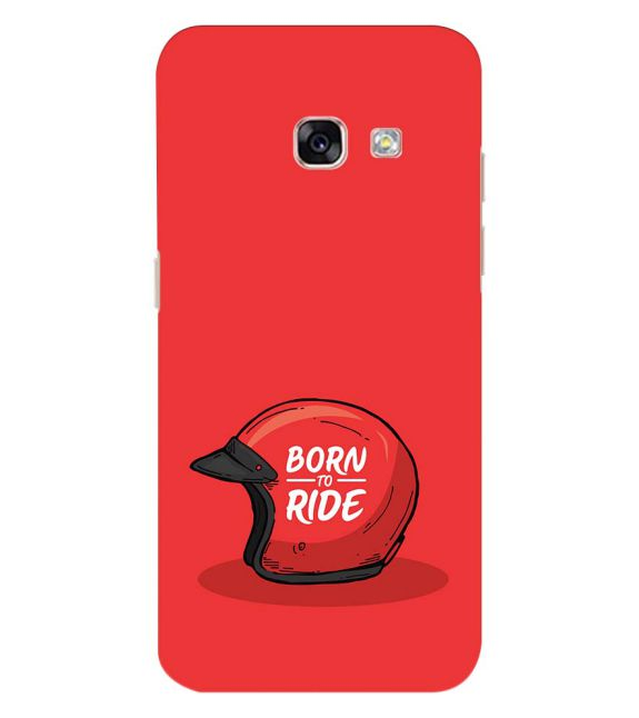 Born 2 Ride Back Cover for Samsung Galaxy A3 (2017)