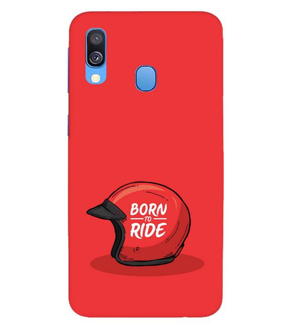 Born 2 Ride Back Cover for Samsung Galaxy A40