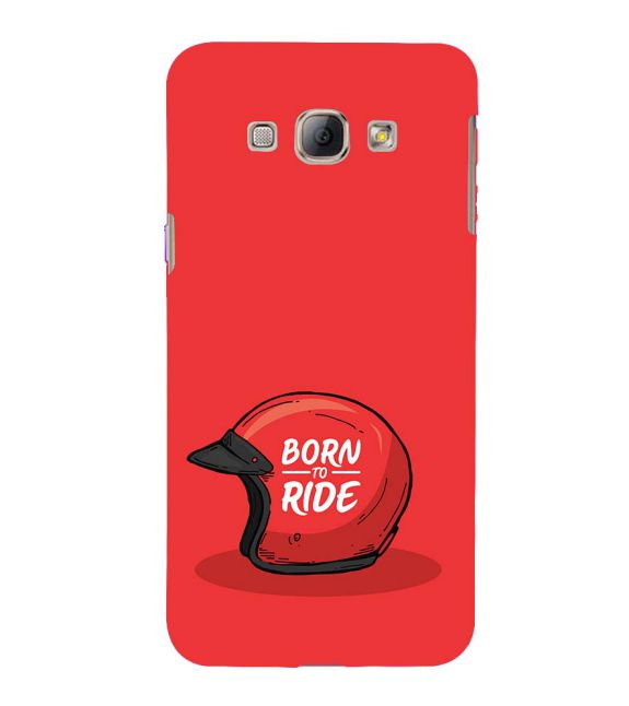 Born 2 Ride Back Cover for Samsung Galaxy A8 (2015)